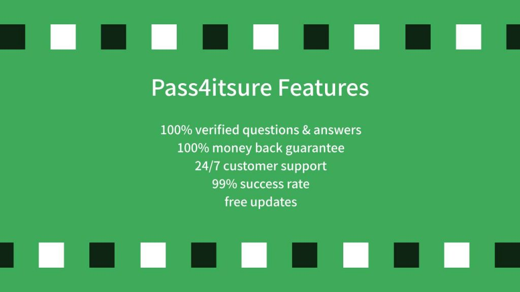 Pass4itsure feature